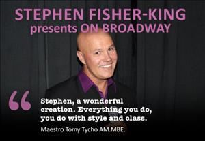 MORNING MELODIES: Stephen Fisher-King presents On Broadway