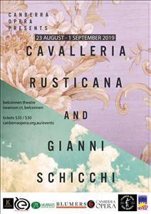 Gianni Schicchi & Cavalleria Rusticana